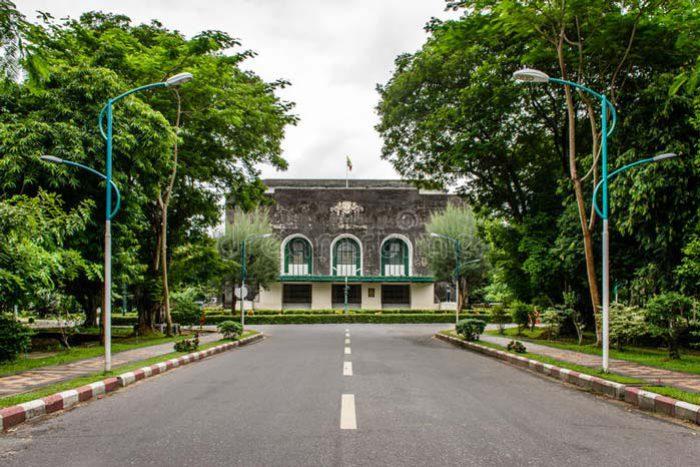 The prestigious Yangon University